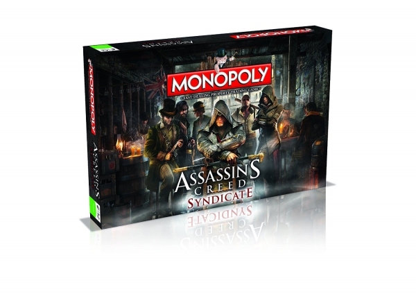 Assasins Creed Syndicate Monopoly Board Game