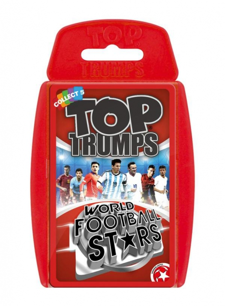 World Football Stars 'Top Trumps' Fc Card Game