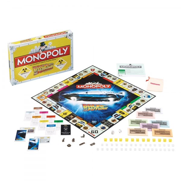 Back To The Future 'Trilogy Edition' Monopoly Board Game