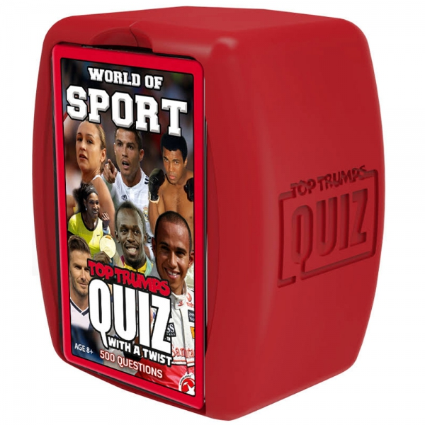 World of Sports 'Top Trumps Quiz' Card Game