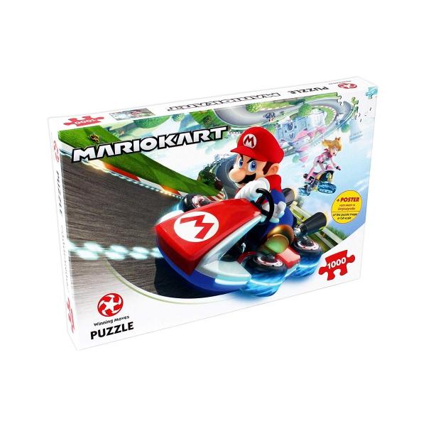 Nintendo Super Fun Racer Mario Kart Funracer 1000 Piece Jigsaw Puzzle Game