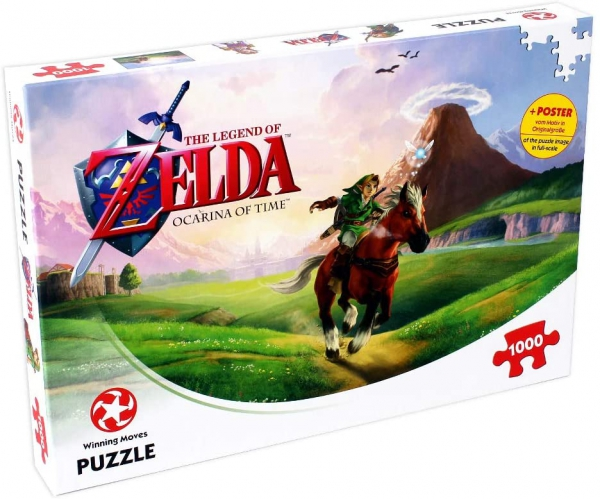 Legend of Zelda Ocarina Time 1000 Piece Jigsaw Puzzle Game