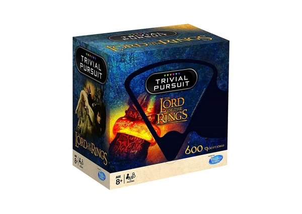 Lord The Rings Trivial Pursuit Card Game