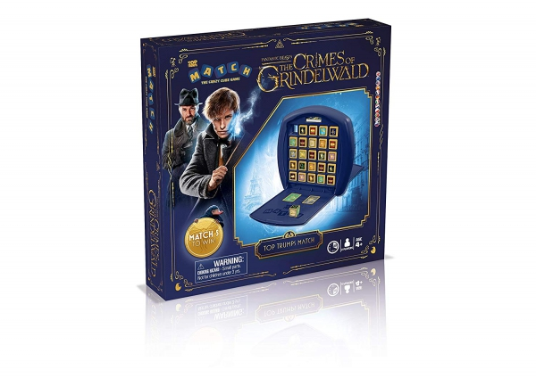 Fantastic Beasts The Crimes of Grindelwald Top Trumps Match Board Game