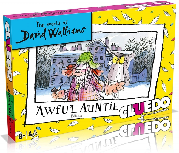 David Walliams Awful Auntie Cluedo Mystery Board Game
