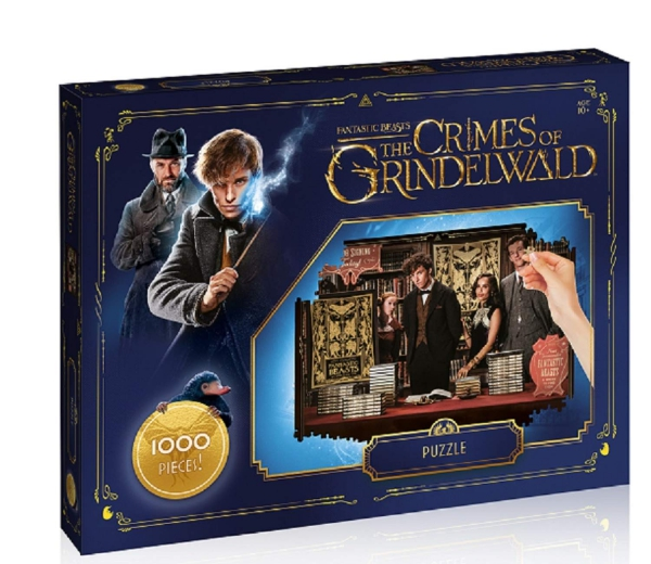 Harry Potter Quidditch 1000 Pcs Piece Jigsaw Puzzle Game