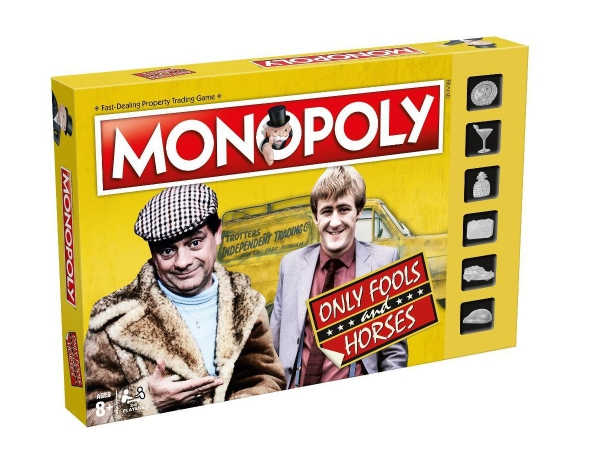 Only Fools and Horses Gamer Monopoly Board Game