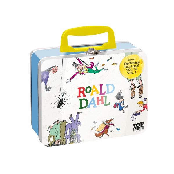 Roald Dahl Top Trumps Tin Card Game