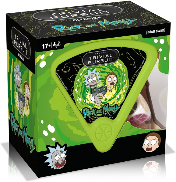 Rick and Morty 'Trivial Pursuit' Card Game