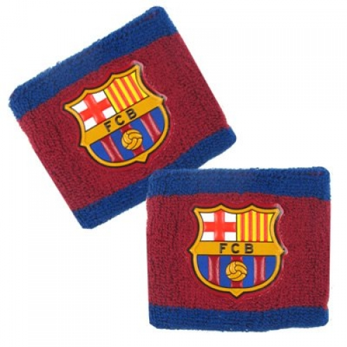 Barcelona Fc Football Wristband Official Accessories