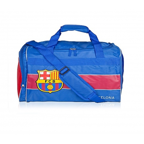 Barcelona Fc Holdall Football Luggage Bag Official