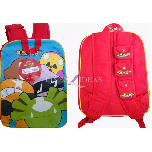 Gogo' S Crazy Bones School Bag Rucksack Backpack