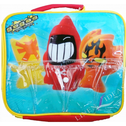 Gogo' S Crazy Bones School Rectangle Lunch Bag