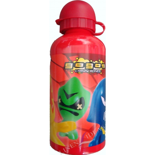 Gogos Crazy Bones Aluminum Water Bottle