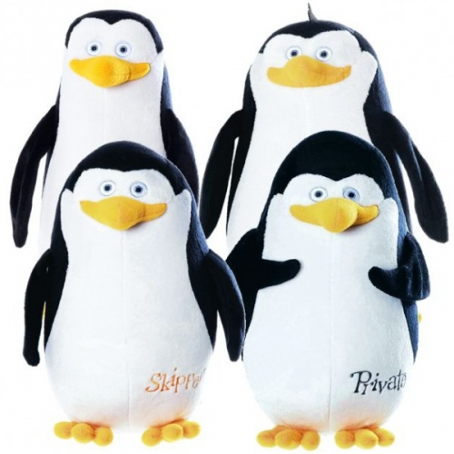 Penguins of Madagascar 10' inch Plush Assorted Soft Toy