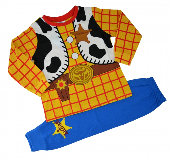 Disney Toy Story 'Woody' Boys Novelty Pyjama Set 3-4 Years