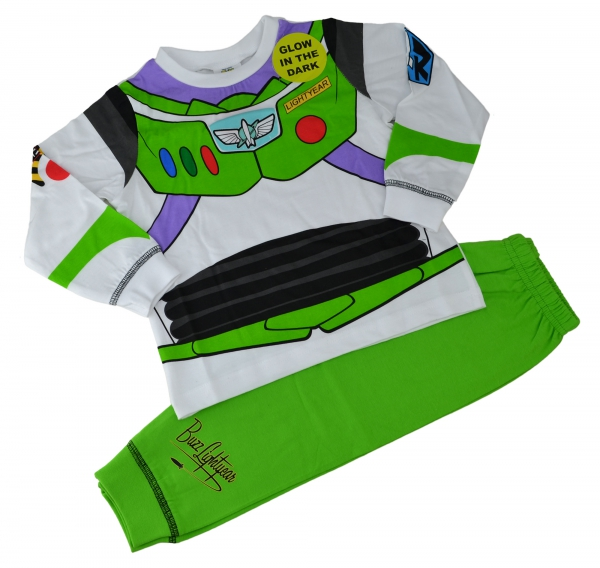 Disney Toy Story 'Buzz Lightyear' Boys Novelty Pyjama Set 4-5 Years