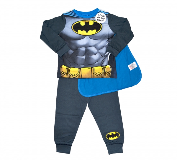 Batman 'Knight' Boys Novelty Pyjama Set 7-8 Years