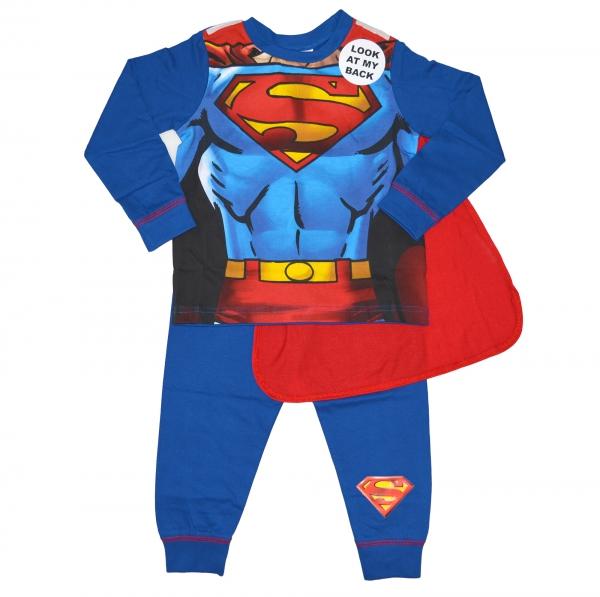 Superman 'Classic' Boys Novelty Pyjama Set 3-4 Years