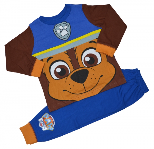 Paw Patrol 'Chase' Boys Novelty Pyjama Set 5-6 Years