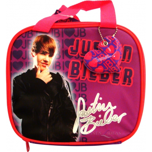 Justin Bieber School Premium Lunch Bag Insulated