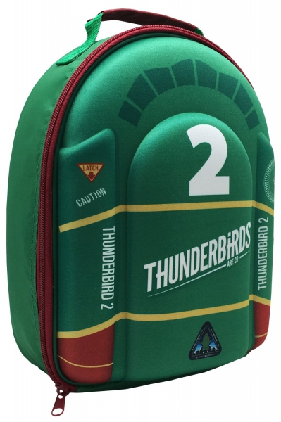Thunderbirds 2 'Tb2' 3d Eva School Premium Lunch Bag Insulated