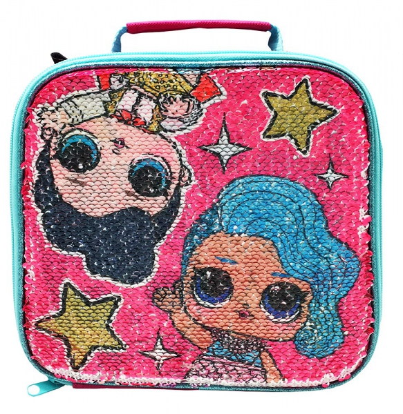 Lol Surprise Sequin 'Multi Design In One' School Premium Lunch Bag Insulated