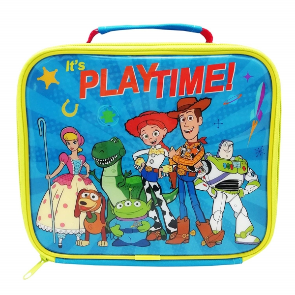 Disney Toy Story It' S Playtime! School Rectangle Lunch Bag
