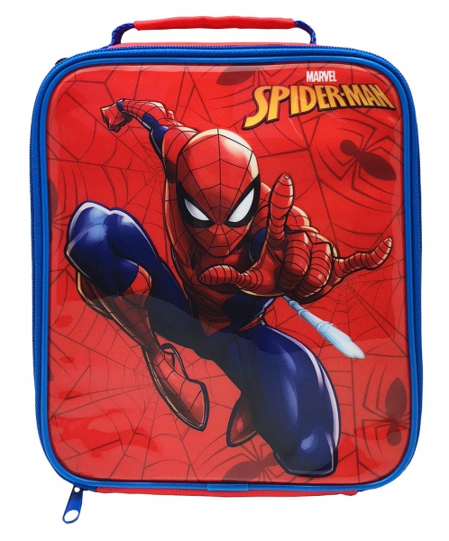Spiderman Classic School Rectangle Lunch Bag