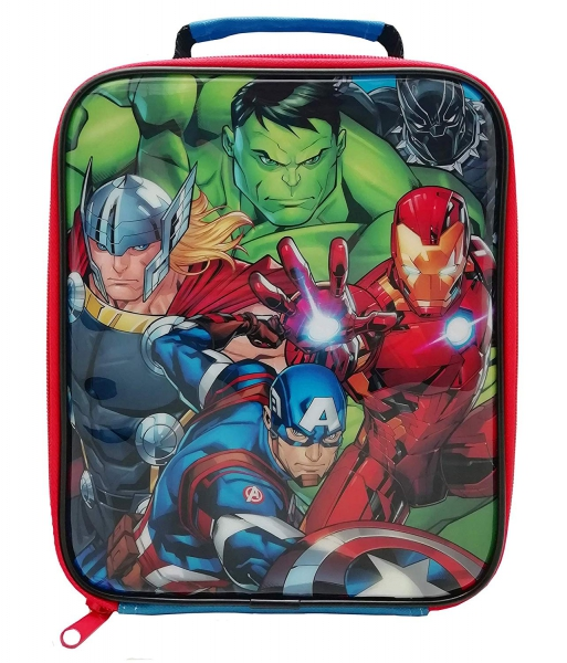 Marvel Avengers Classic School Rectangle Lunch Bag