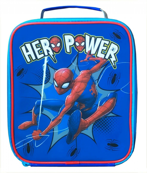 Spiderman Hero Power5039388070041 School Premium Lunch Bag Insulated