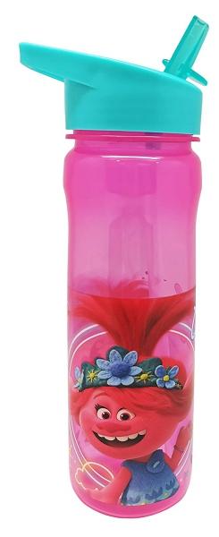 Trolls Water Bottle Pink 600ml Aruba