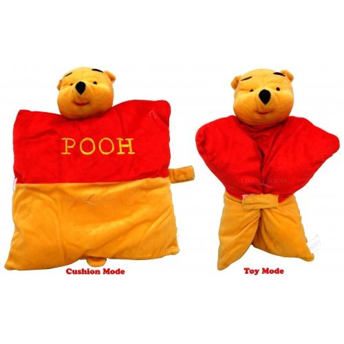 Disney Winnie The Pooh 2 In 1 Cushion Shaped