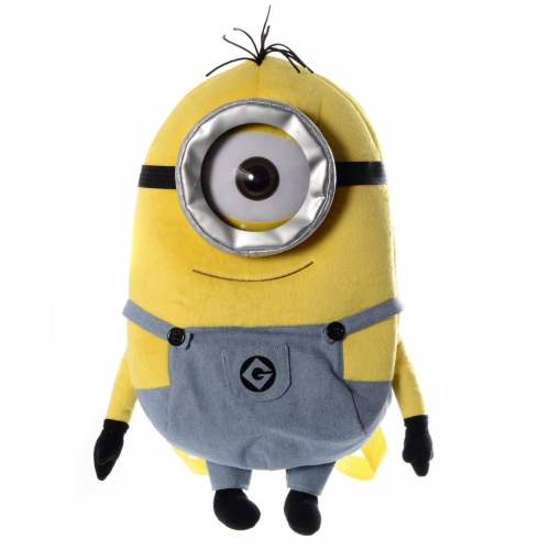Despicable Me Minion 'One Eye' Plush School Bag Rucksack Backpack