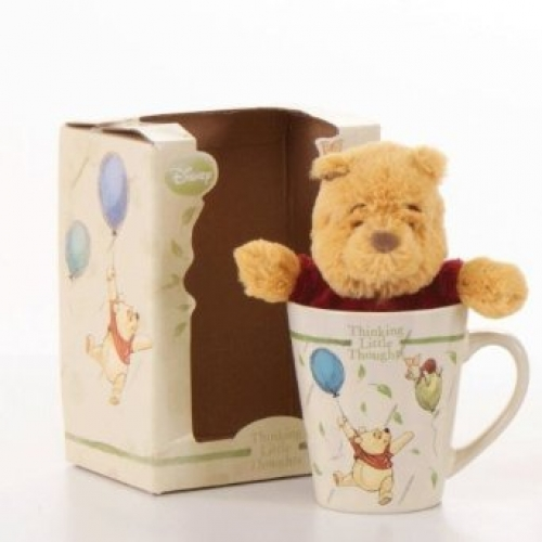 Winnie The Pooh 'Mug and Soft Toy' Box Gift Set