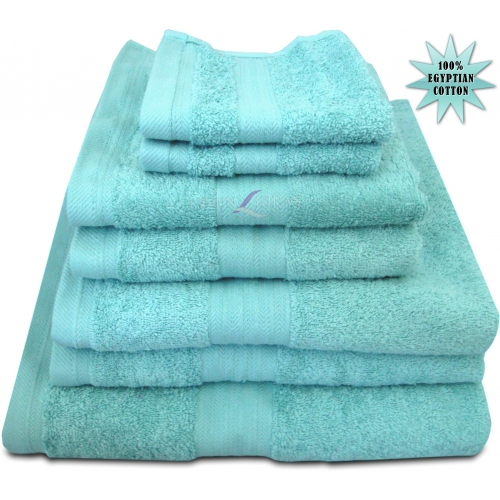 Towel Egyptian Sea Foam Plain Jumbo Sheet