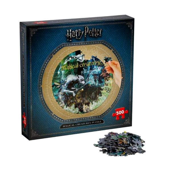 Harry Potter Magical Creatures 500 Piece Jigsaw Puzzle Game