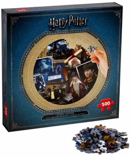 Harry Potter Philosophers Stone 500 Piece Jigsaw Puzzle Game