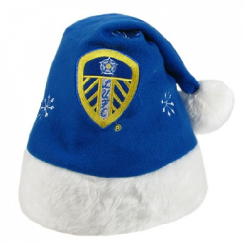 Leeds United Fc Football Xmas Hat Official Christmas