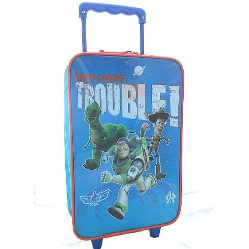 Disney Toy Story 'Here Comes Trouble' School Travel Trolley Roller Wheeled Bag