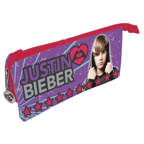 Justin Bieber Pencil Case Stationery