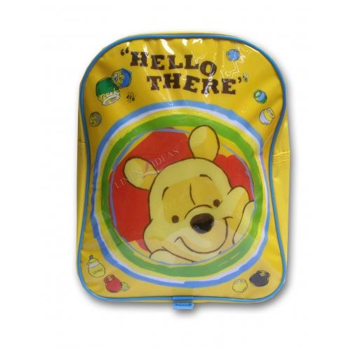 Disney Winnie The Pooh 'Hello There' School Bag Rucksack Backpack