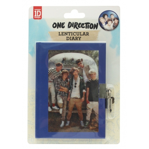 One Direction 'Lenticular' Secret Diary Stationery
