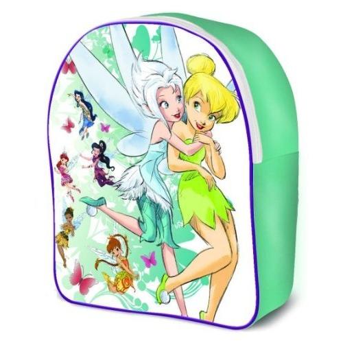 Disney Fairies Tinkerbell 'Hug' Pvc Front School Bag Rucksack Backpack
