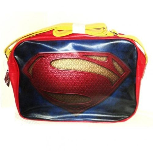 Marvel Superman Deluxe School Shoulder Bag