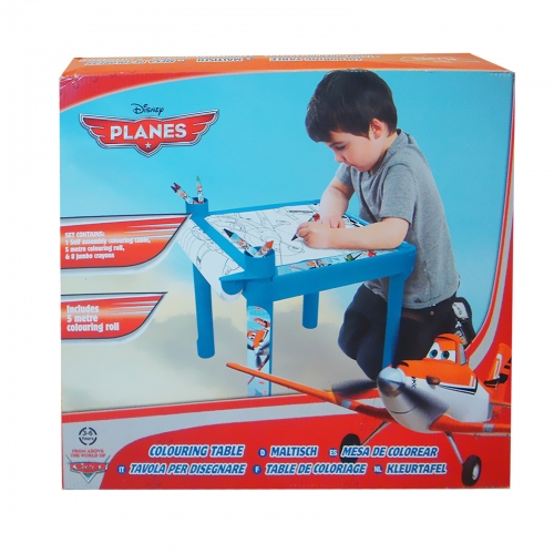 Disney Planes Colouring Table Stationery