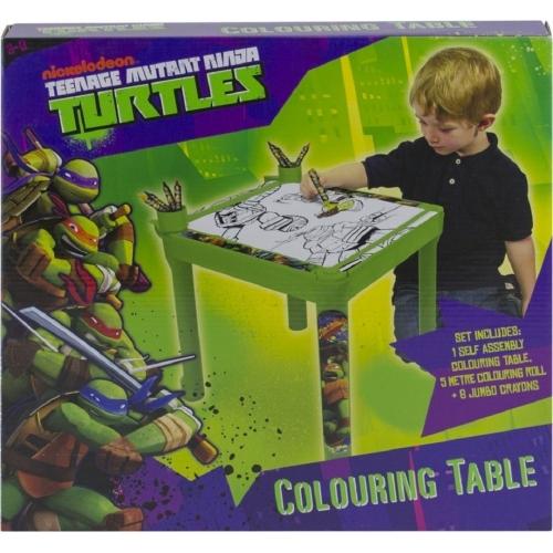 Teenage Mutant Ninja Turtles Colouring Table Stationery