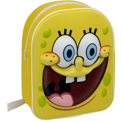Spongebob Squarepants '3d Junior' School Bag Rucksack Backpack