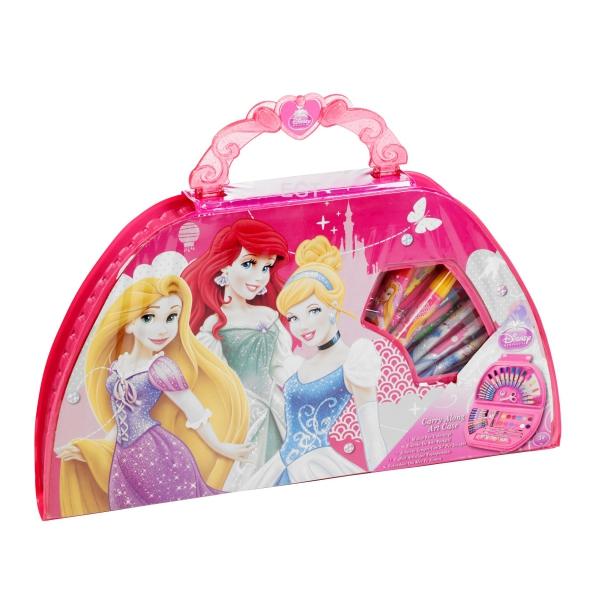 Disney Princess 'Carry Along' Art Case Stationery