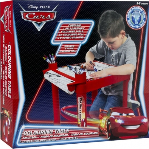 Disney Cars Colouring Table Stationery